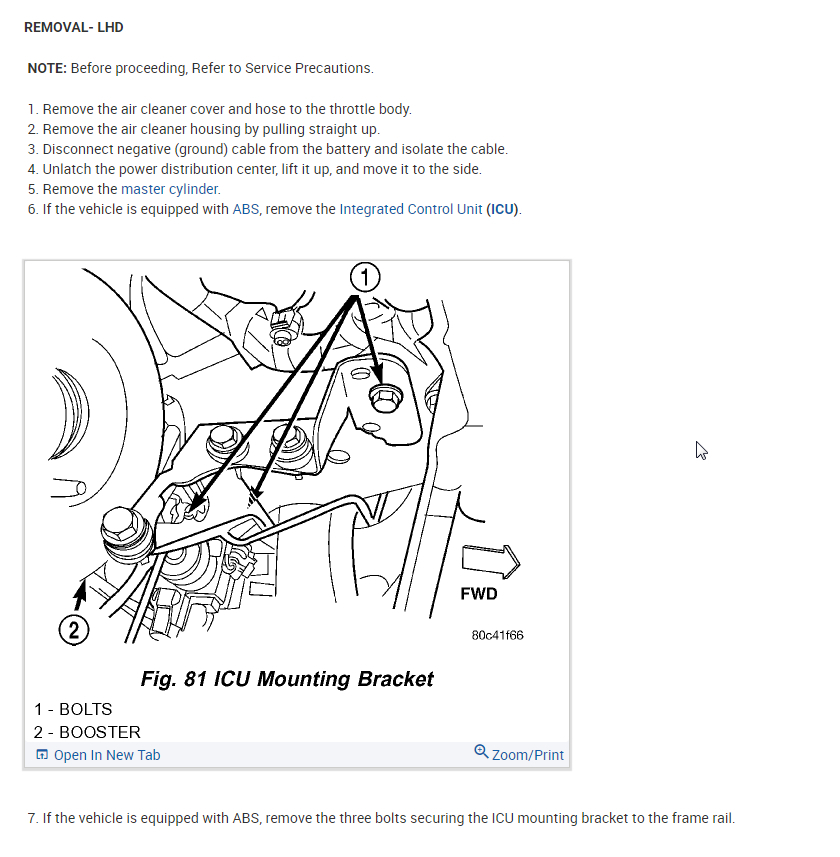 Brake Booster Replacement Instructions Please?: I Cant Get