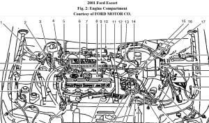 2001 Ford Escort ZX220 Rough Idling: Car Would Idle