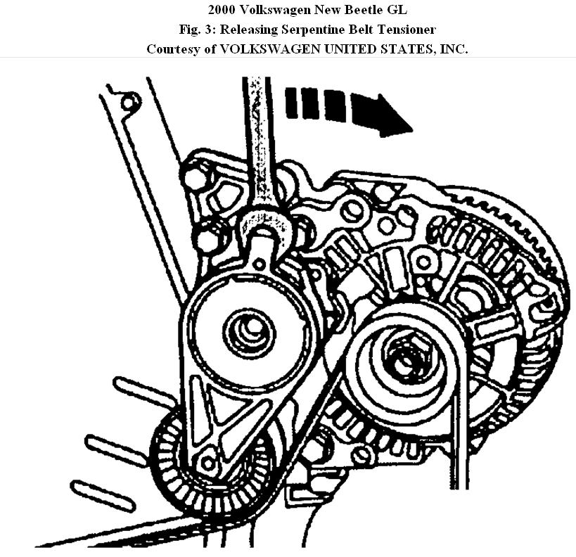2002 Vw Jetta Tdi Serpentine Belt Diagram