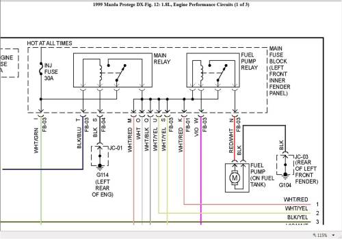 small resolution of 1997 mazda 626 fuel pump wiring diagram wiring diagrams 1997 mazda 626 fuel pump wiring diagram