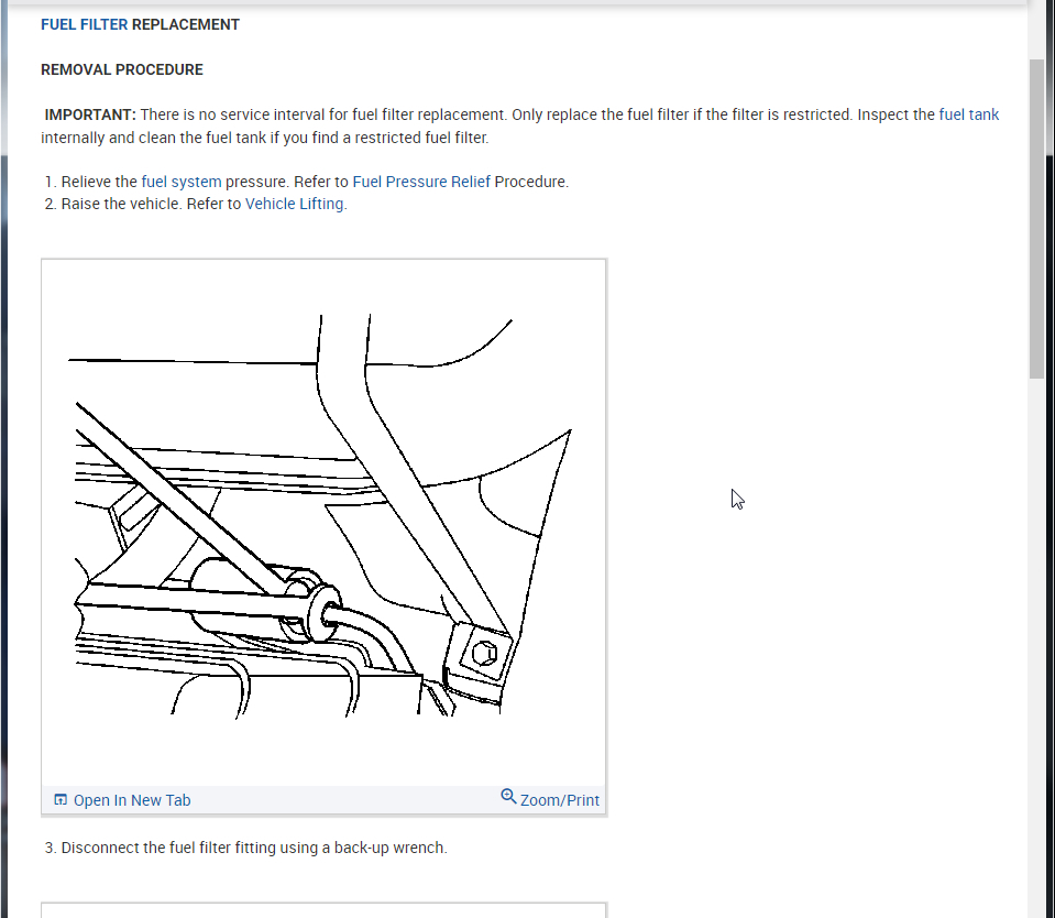Fuel Filter Replacement Instructions Please?: My Fuel