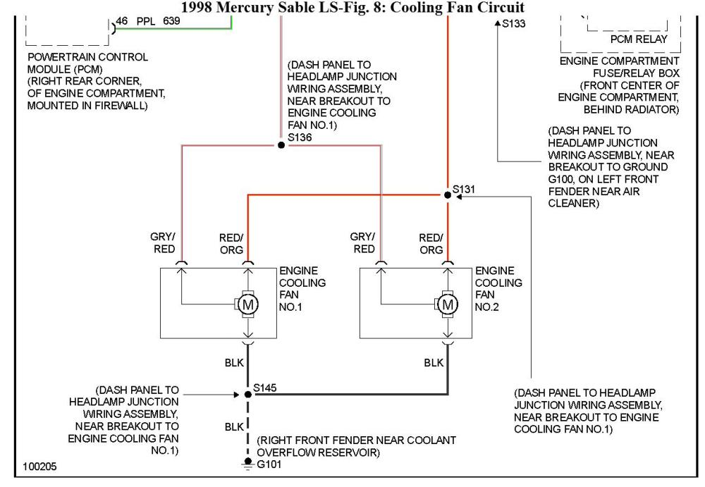 medium resolution of 2001 mercury sable cooling fan wiring diagram wiring diagram view 2001 mercury sable cooling fan wiring diagram