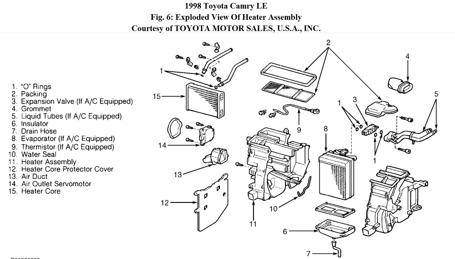 2006 Toyota Avalon Xls Engine Diagram. Toyota. Auto Wiring