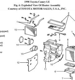 ac airflow mode does not change 98 camry ac airflow mode does98 camry heater diagram [ 1539 x 877 Pixel ]