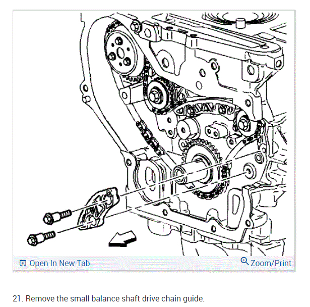 Timing Chain/upper Chain Guide Bolt Replacement