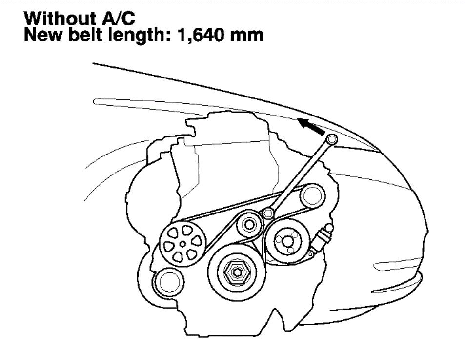 Can I Get a Serpentine Belt Diagram?