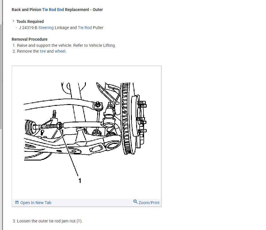 Tie Rod Replacement: I Recently Brought My 2004 SRX in to
