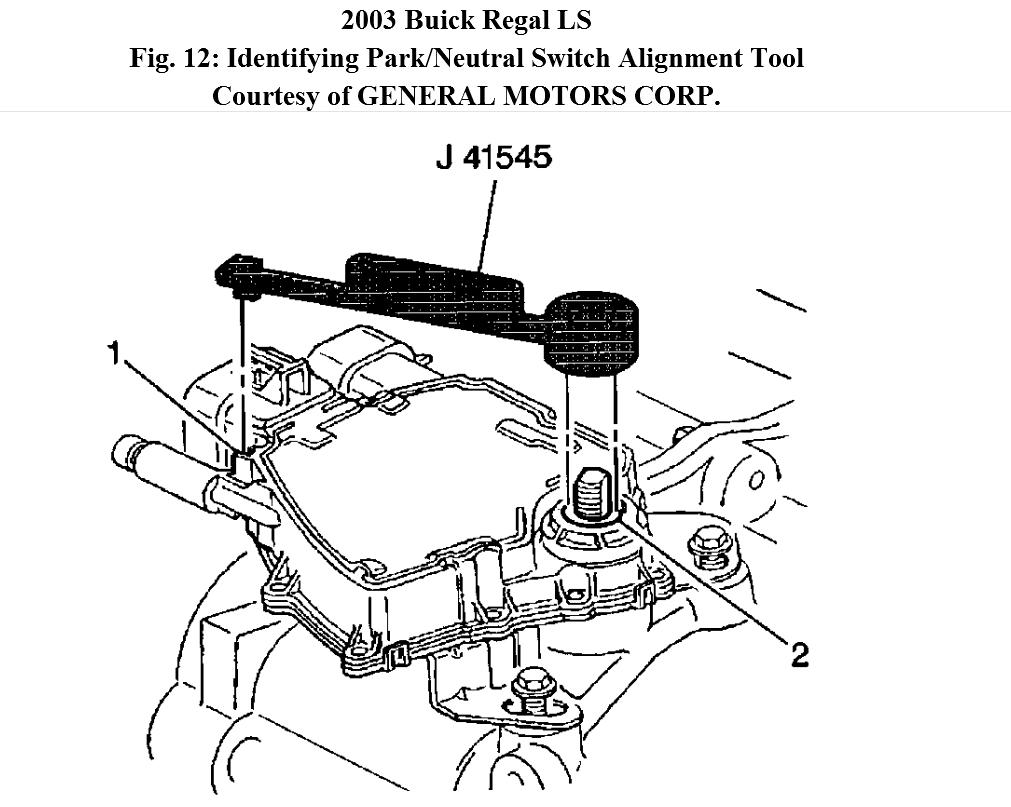 How Do You Replace a Natural Switch in a 2003 Buick Regal?