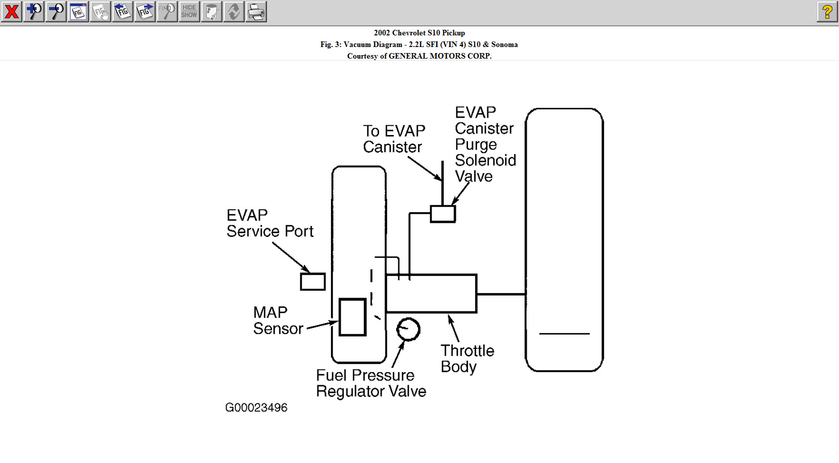 Vacuum System Diagram Vacuum System Diagram For Chevrolet