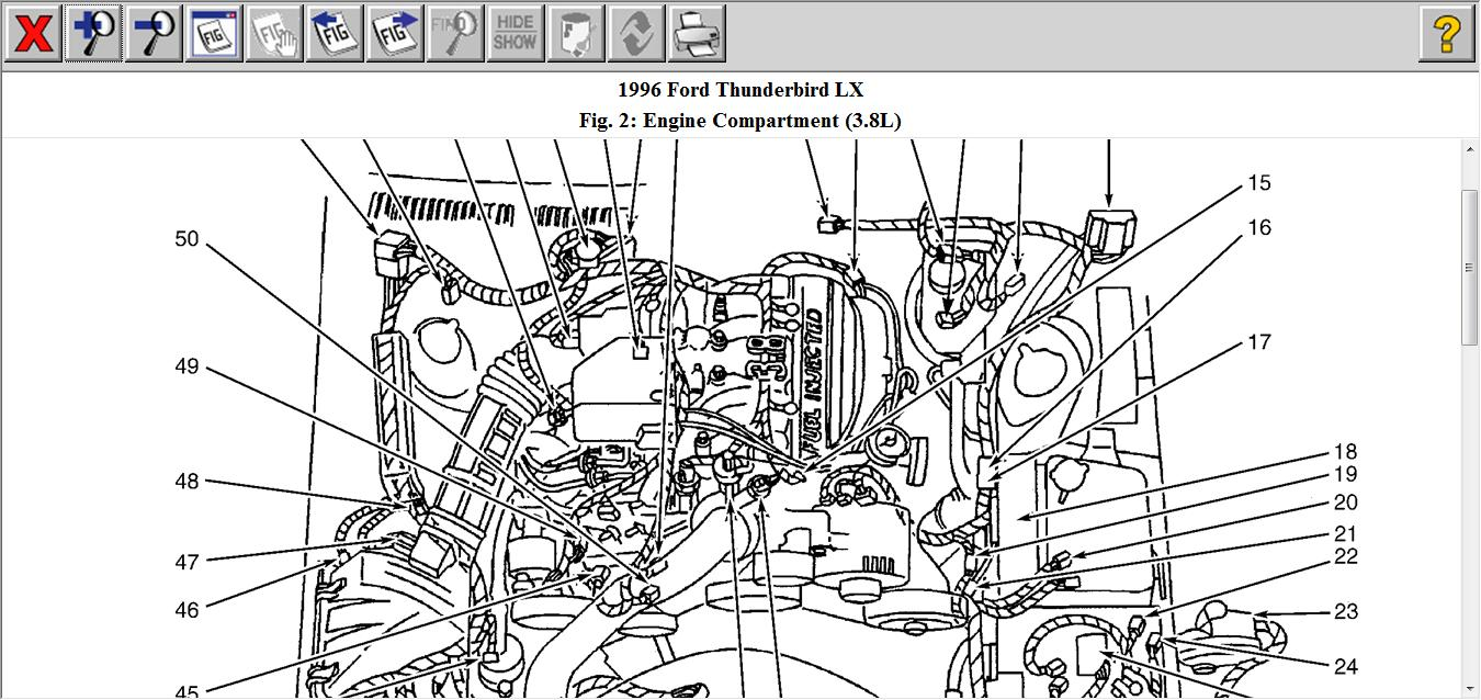 1990 Lincoln Town Car Engine Diagram