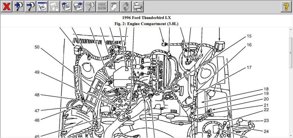 medium resolution of 95 ford thunderbird engine diagram wiring diagram user 1996 ford thunderbird engine diagram wiring diagram expert