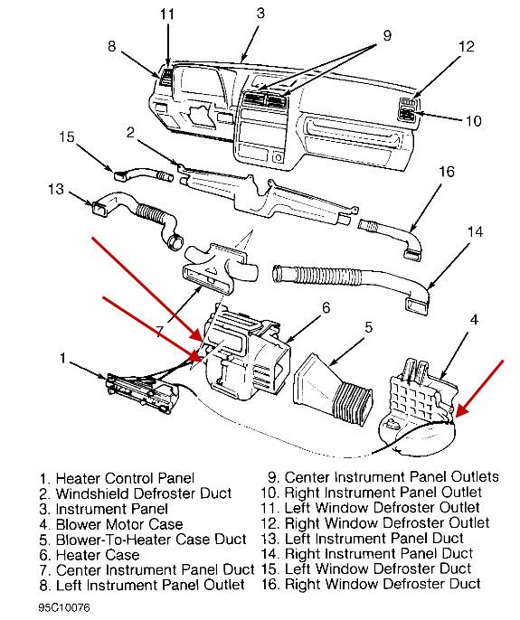Service manual [Removing 1995 Geo Tracker Rear Overhead