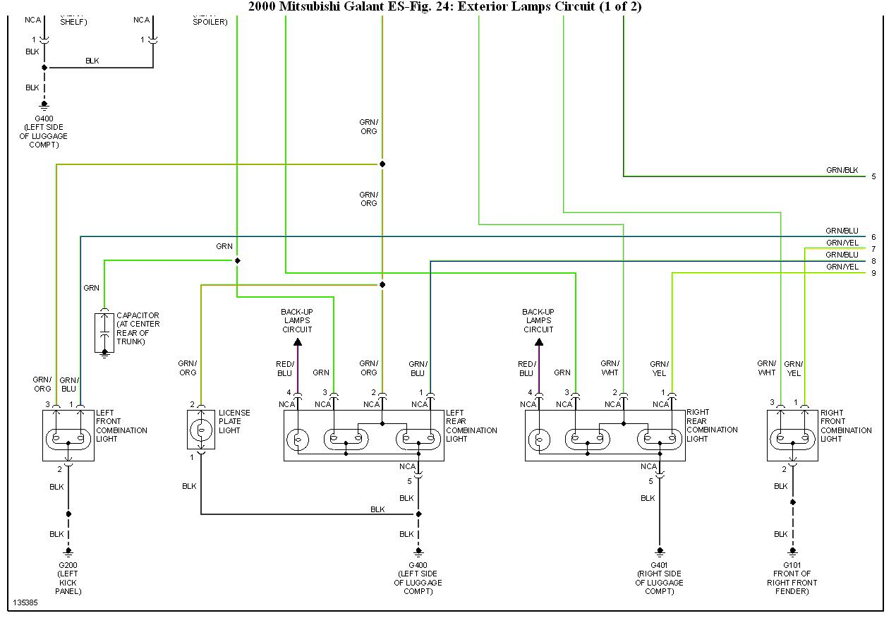 2000 mitsubishi eclipse wiring diagram ge refrigerator problem galant electrical mystery i have a