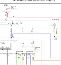hyundai accent 1996 fuse box diagram wiring libraryhazard flasher 2007 hyundai accent hazard flashers won  [ 1267 x 876 Pixel ]