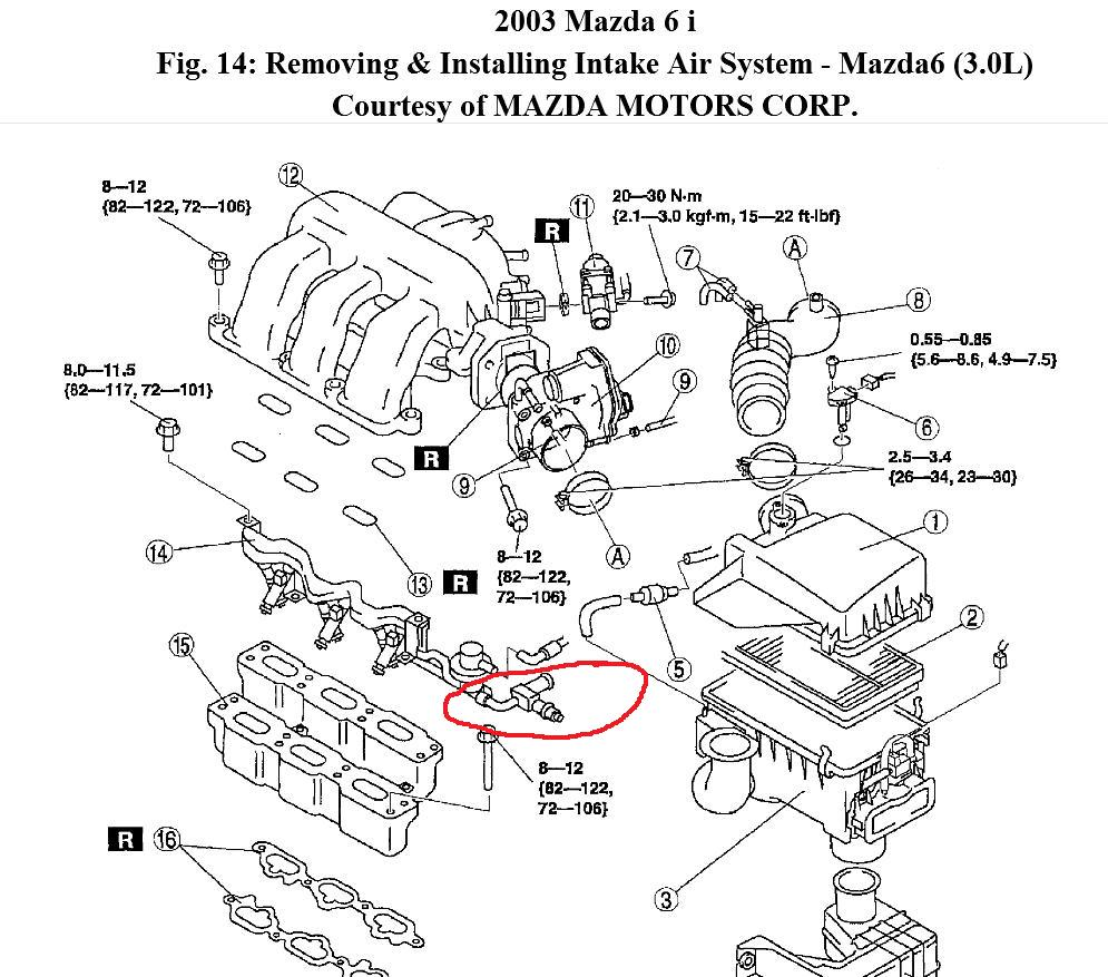 2002 Mazda 6 Engine Diagram Needed: I Would Like to