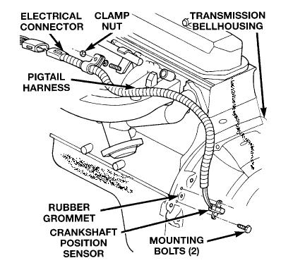 Jeep Wire Harness Crankshaft Position Sensor : 44 Wiring