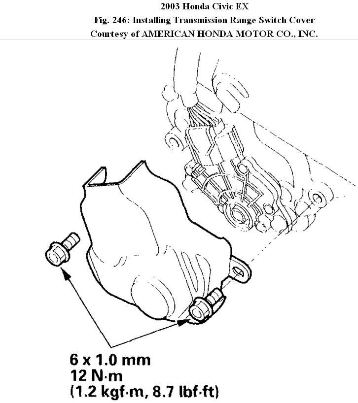 '03 Civic Won't Park: My '03 Honda Civic Ex Won't Go Into