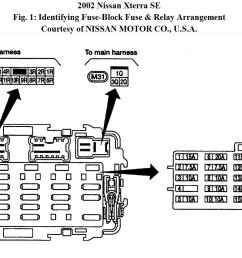 2002 nissan fuse box automotive wiring diagrams infiniti m35 fuse box diagram 04 nissan frontier fuse box diagram [ 1584 x 841 Pixel ]