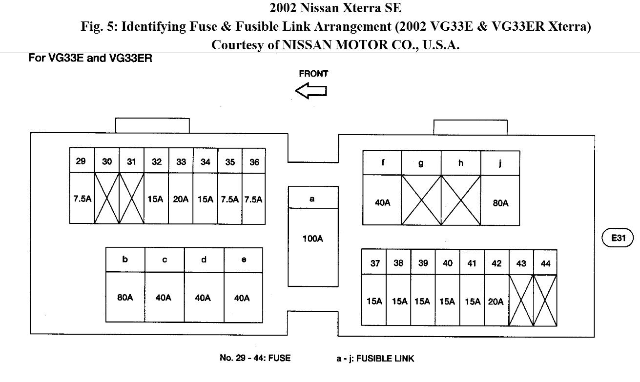 2002 nissan sentra fuse box diagram iec 60617 graphical symbols for diagrams xterra 35 wiring