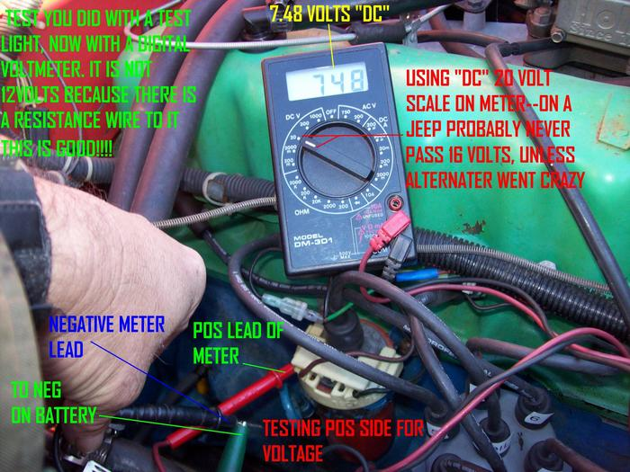 wire 2 lights to 1 switch diagram 20 hp kohler engine wiring jeep cj7: cj with 304, have replace ignition coil often.