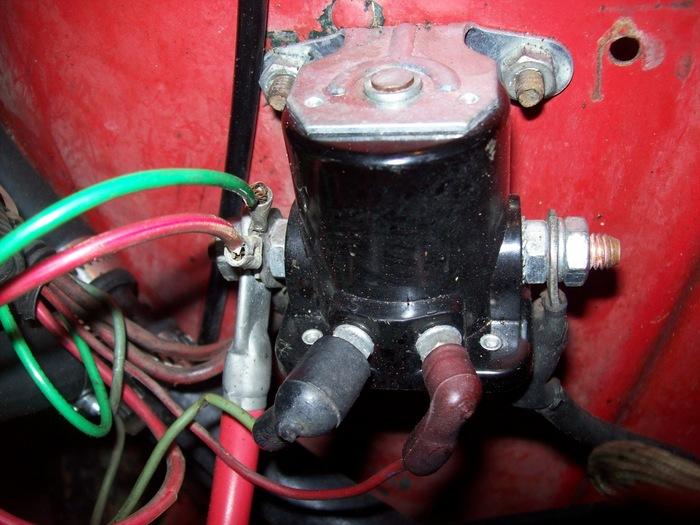 Jeep Starter Solenoid Wiring