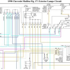 Light Wiring Diagram 2007 Ford Fusion A C 99 Tahoe Tail Distributor