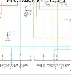 2005 malibu tail light diagram wiring diagram used malibu tail light wiring diagram [ 1243 x 855 Pixel ]