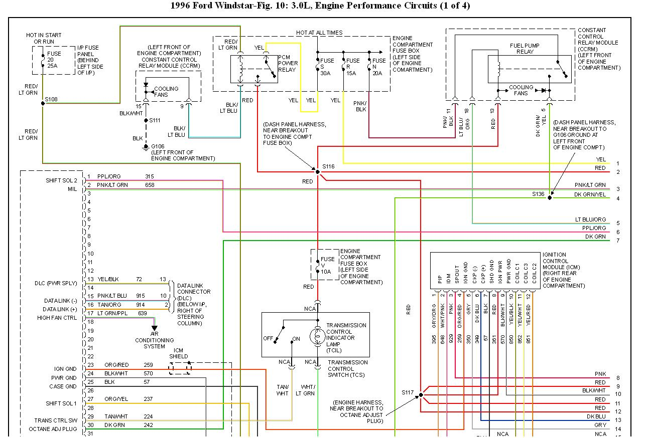 hight resolution of 96 windstar not starting i am working on a 96 windstar and it thumb 96 windstar fuse diagram 1999 ford