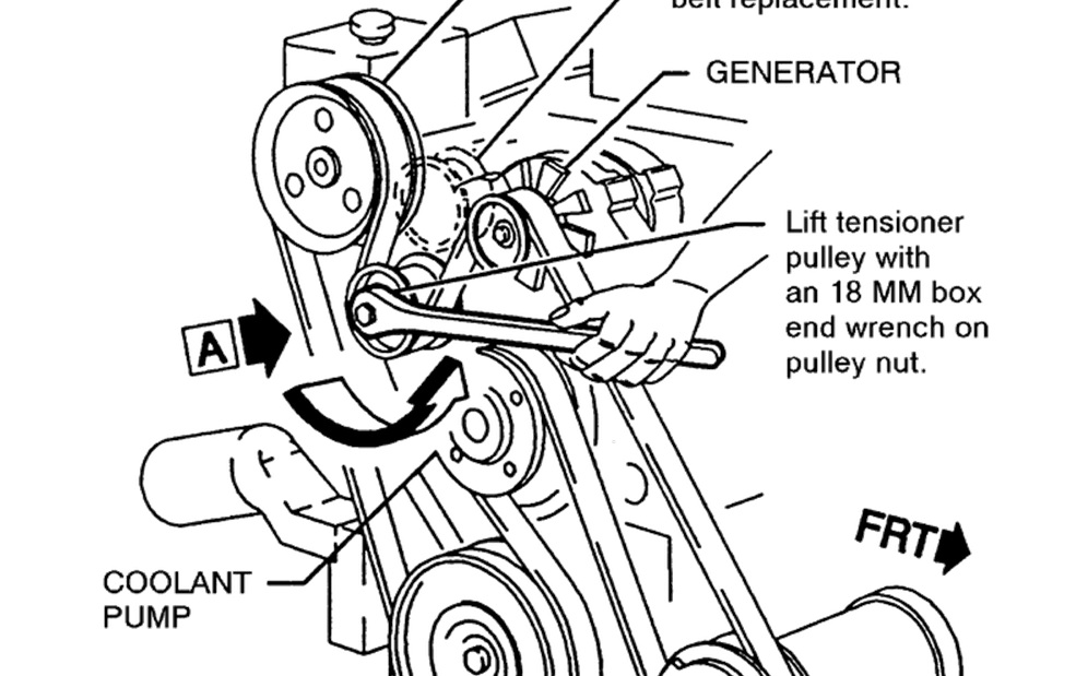 Tensioner on a 92 Pontiac Grand Am: I Am Trying to Replace