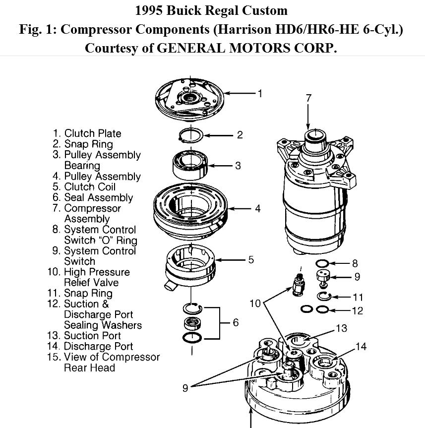 Service manual [Remove Clutch Pulley From A 2001 Buick