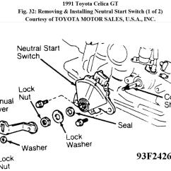 Toyota Celica Wiring Diagram 1993 House 3 Way Switch Neutral Safety The Car Is An Automatic It Will