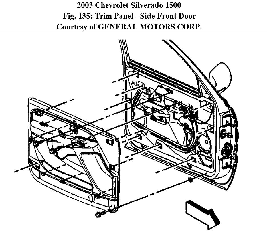 How Can I Replace the Passenger Side Speaker in My 2003