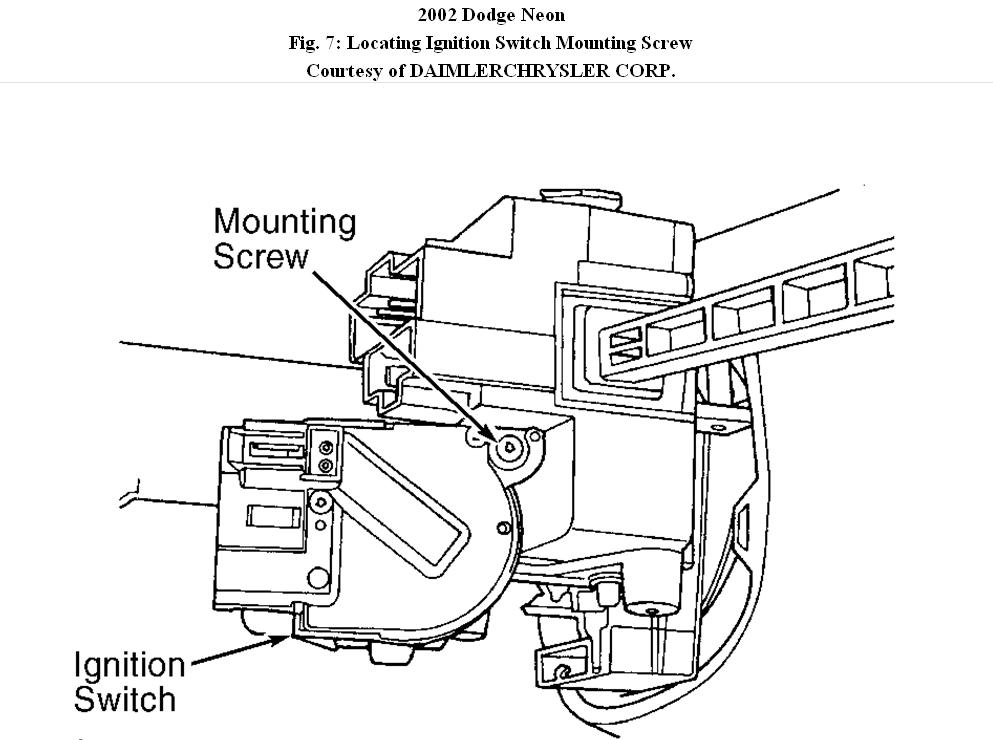 Dodge Neon Starter Switch Diagram : 33 Wiring Diagram