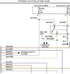 1991 honda civic radio wiring diagram ok i have a radio i m 1991 nissan wiring diagram 1991 honda wiring diagram [ 1263 x 875 Pixel ]