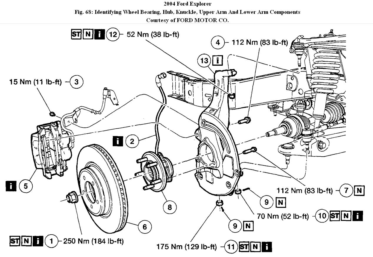 Service manual [Diagram To Change Wheel Bearing On A 2004