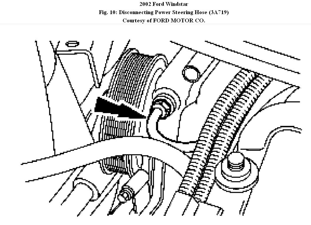 2002 Ford Windstar Power Steering Diagram. Ford. Auto
