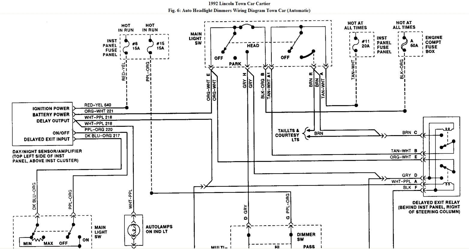 hight resolution of 1993 town car wiring lamps wiring diagram operations 1993 town car wiring lamps wiring diagrams posts