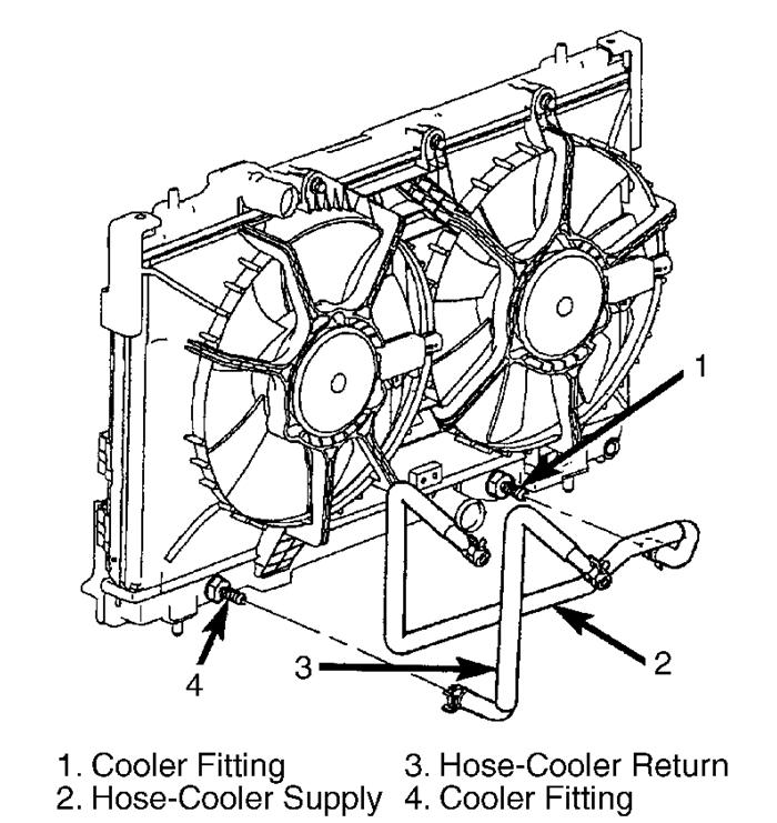 Transmission Fluid in Collant Resovior: Transmission Fluid