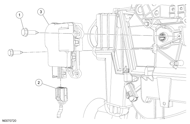 2005 Taurus Blend Door Actuator Wire Diagram : 44 Wiring
