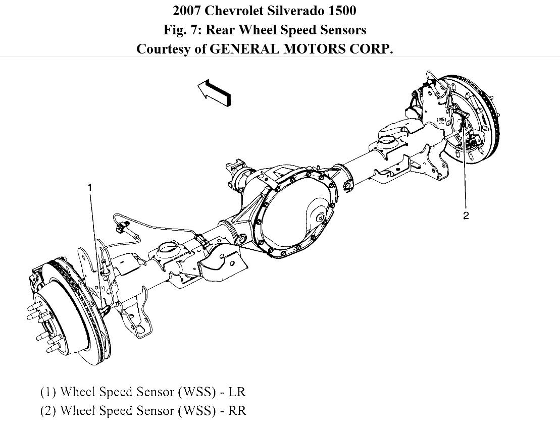Chevy Silverado Wheel Diagram. Engine. Auto Parts Catalog