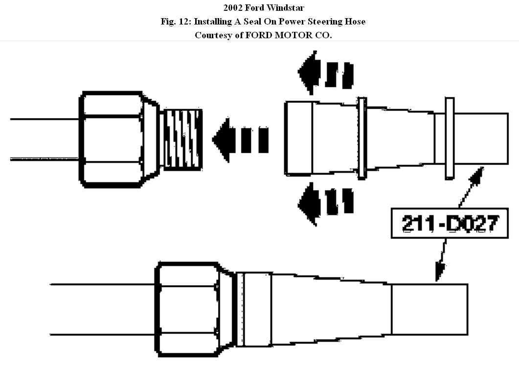 [WRG-1615] Ford Windstar Power Steering Repair Manual