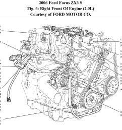 where is the crankshaft position sensor located 2012 ford focus cam sensor wiring diagram [ 1141 x 848 Pixel ]