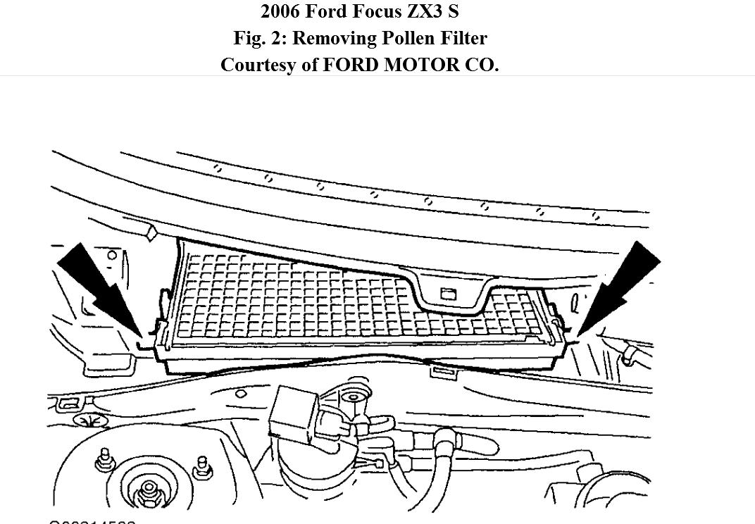 Ford Cabin Air Filter Location Pictures to Pin on