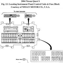 Nissan Quest Parts Diagram Boiler Wiring Y Plan 2007 Fuse Box 2001 Sentra