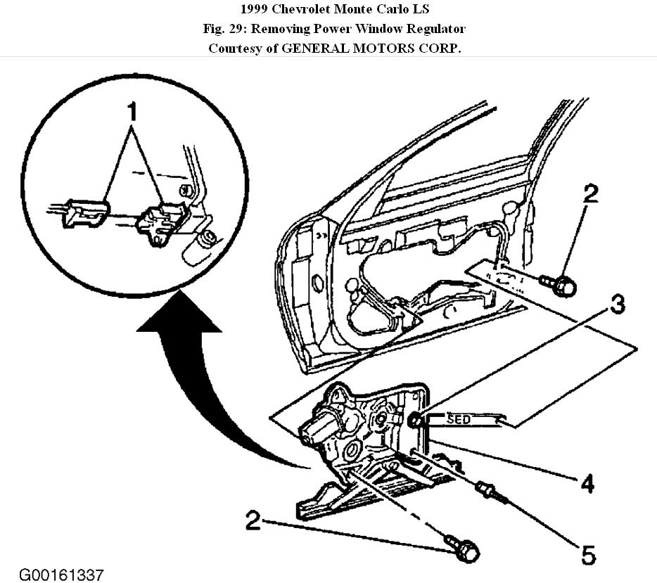 1999 Monte Carlo Window Motor Replacement: How Do I