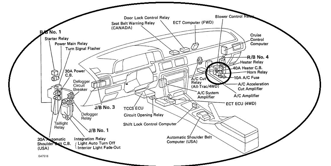 Electrical: My 1991 Toyota Camry Has the Light Indicator