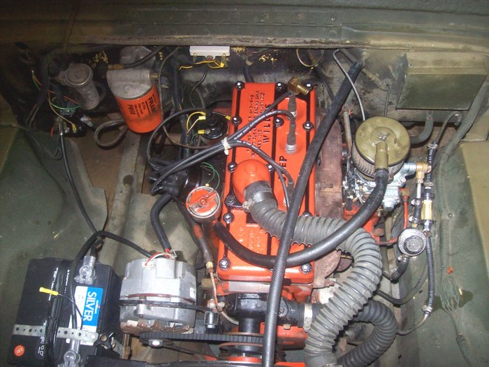 Willys Wiring Diagram My Cj Has Recently Been Rebuilt The Engine Dies