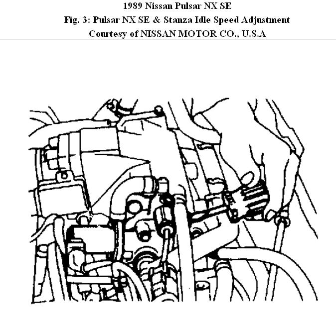 Service manual [How To Adjust Idle Speed 1989 Mitsubishi