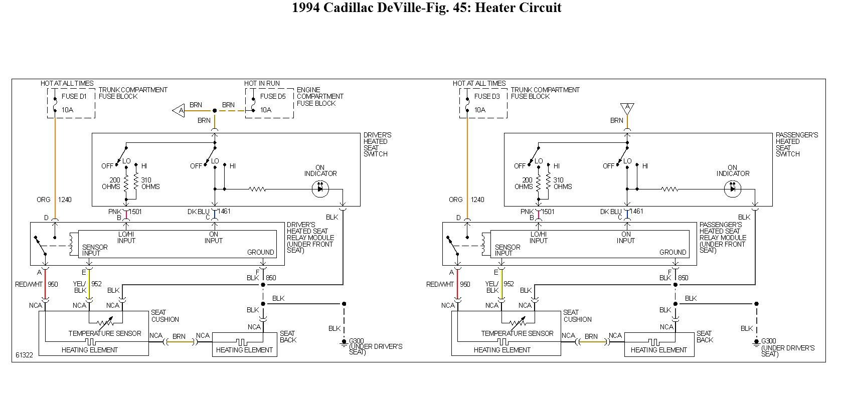 hight resolution of question 1994 cadillac deville fuse 5 60 amp maxifuse controls94 deville wiring diagram