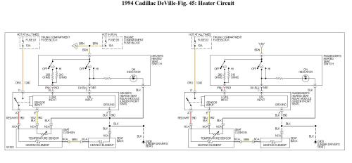 small resolution of question 1994 cadillac deville fuse 5 60 amp maxifuse controls94 deville wiring diagram